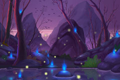 Geist-Wald Stockbilder