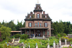 Geisterhaus Stockfoto