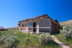 Geisterstadt, Montana Stockbild
