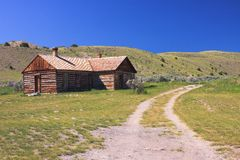 Geisterstadt, Montana Lizenzfreie Stockfotos