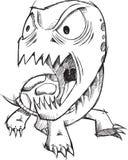 Geisteskranke verrückte Gekritzel-Schildkröte Stockfoto