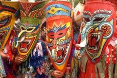 Geistfestival in Thailand. stockbild
