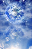 Geistige Erde lizenzfreie abbildung