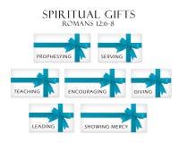 Geistige Geschenke Stockbild