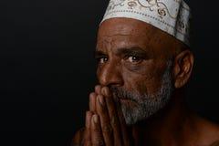 Geistiger indischer Mann Stockfotografie