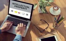 Geistiges Eigentum Lizenzfreie Stockfotos