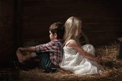 Geistlich herausgeforderte Kinder Lizenzfreies Stockbild