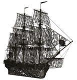 Geistsegelboot Lizenzfreies Stockbild