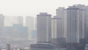 Geiststadtr?nde der Stadt Kunming morgens stock video footage