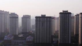 Geiststadtr?nde der Stadt Kunming morgens stock footage