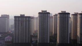 Geiststadtr?nde der Stadt Kunming morgens stock video