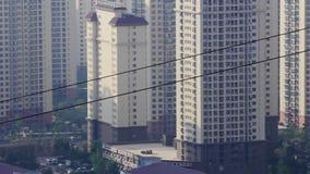 Geistwohnzustand in der chinesischen Stadt stock video