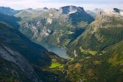 gejrangerford κορυφαία όψη Στοκ Εικόνες