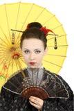gejsza japończyk Zdjęcia Stock