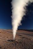 Gejzer w Uyuni zdjęcie stock