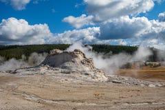 gejzeru grodowy park narodowy Yellowstone zdjęcie royalty free