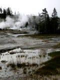 Gejzeru krajobraz Zdjęcia Stock