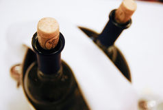 Gekühlter Wein Stockbild