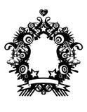 Gek frame royalty-vrije illustratie