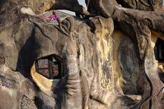 Gek huis in Dalat, Vietnam Stock Afbeeldingen
