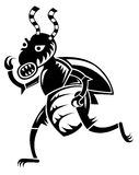 Gek insect royalty-vrije illustratie