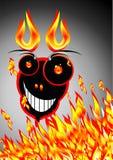 Gek monster royalty-vrije illustratie