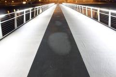 Gekauft mit Licht in Kopenhagen Kalvebod Brygge Stockfotos