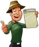 Gekennzeichnete Arbeitskraft Lizenzfreies Stockbild