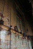 geketend Stock Foto's
