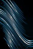 Gekippte wellenförmige Zeile Hintergrund der Perspektive Stockfotos