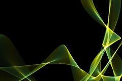 Gekke abstracte achtergrond Stock Foto