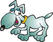 Gekke hond royalty-vrije illustratie