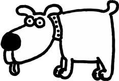 Gekke hond Stock Foto's