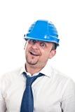 Gekke Ingenieur stock foto's