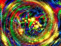 Gekke kleurenachtergrond stock illustratie