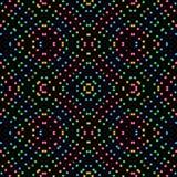 Gekke kleurrijke naadloze achtergrond Royalty-vrije Stock Afbeeldingen