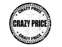 Gekke prijszegel Stock Foto's