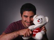 Gekke Valentijnskaart Stock Fotografie