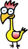 Gekke vogel vector illustratie