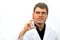 Gekke Wetenschapper Royalty-vrije Stock Fotografie