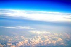 Gekke wolken Stock Afbeelding