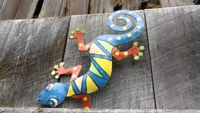 Gekko Decoration on a farm. Charming barn in Ohio royalty free stock photos
