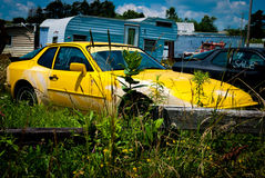Geklatschter heraus Supercar stockbilder