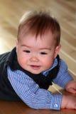 Geklede omhoog Baby Royalty-vrije Stock Afbeelding
