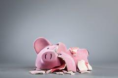 Gekleidetes Sparschwein Lizenzfreies Stockfoto