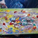 Gekleurd abstract illustratieontwerp Royalty-vrije Stock Foto
