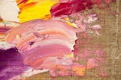 Gekleurd Canvas Stock Foto's