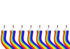 Gekleurd concept Als achtergrond Royalty-vrije Stock Foto's