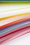 Gekleurd document Stock Afbeeldingen