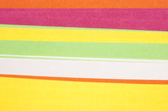 Gekleurd document Royalty-vrije Stock Fotografie